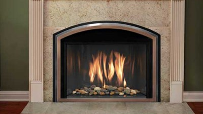 ... with a high efficiency, restoration-quality Mendota gas fireplace  insert. It quickly slides into existing masonry or installed factory built  fireplaces ... - Traditional Gas Fireplaces & Inserts - Estates Chimney Sweep Inc.